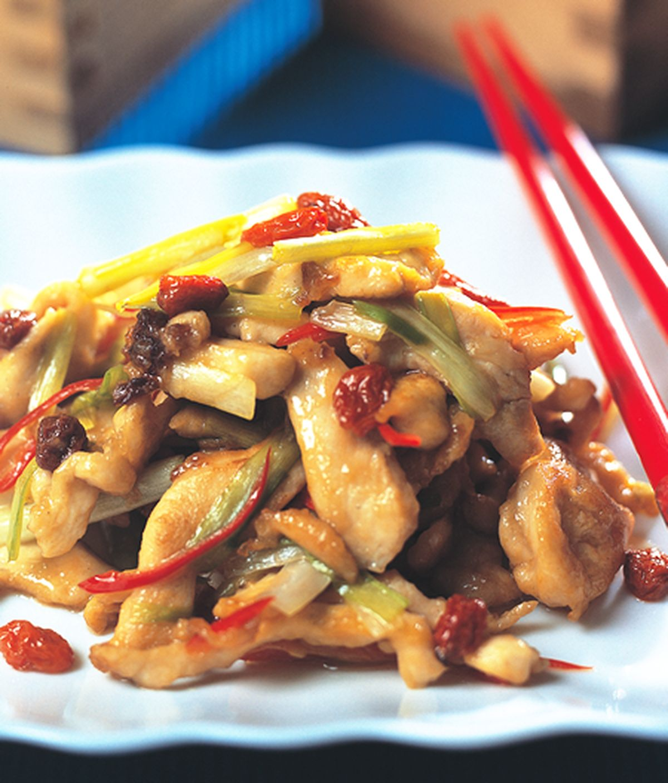 食譜:韭黃炒雞絲