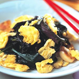 紅鳳菜炒蛋