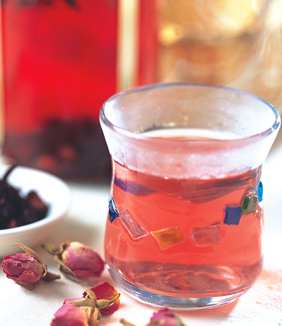 食譜:玫瑰藍梅茶