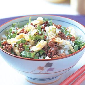 生菜牛肉炒飯