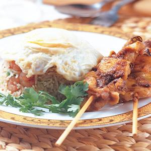 沙嗲雞肉串