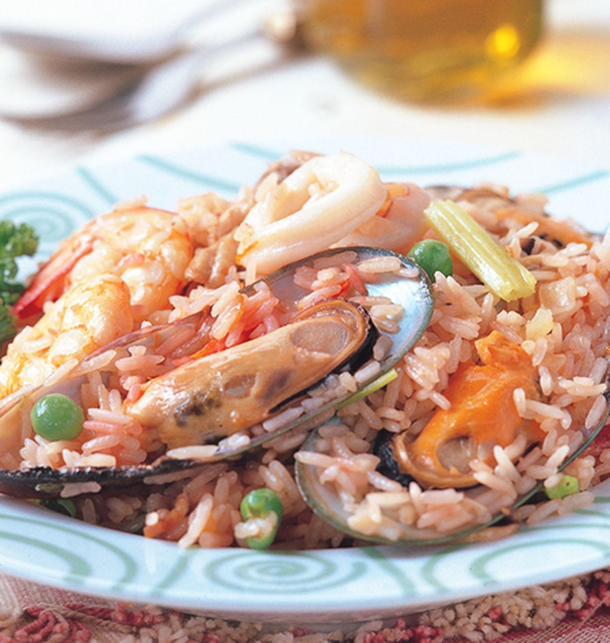 食譜:西班牙海鮮炒飯
