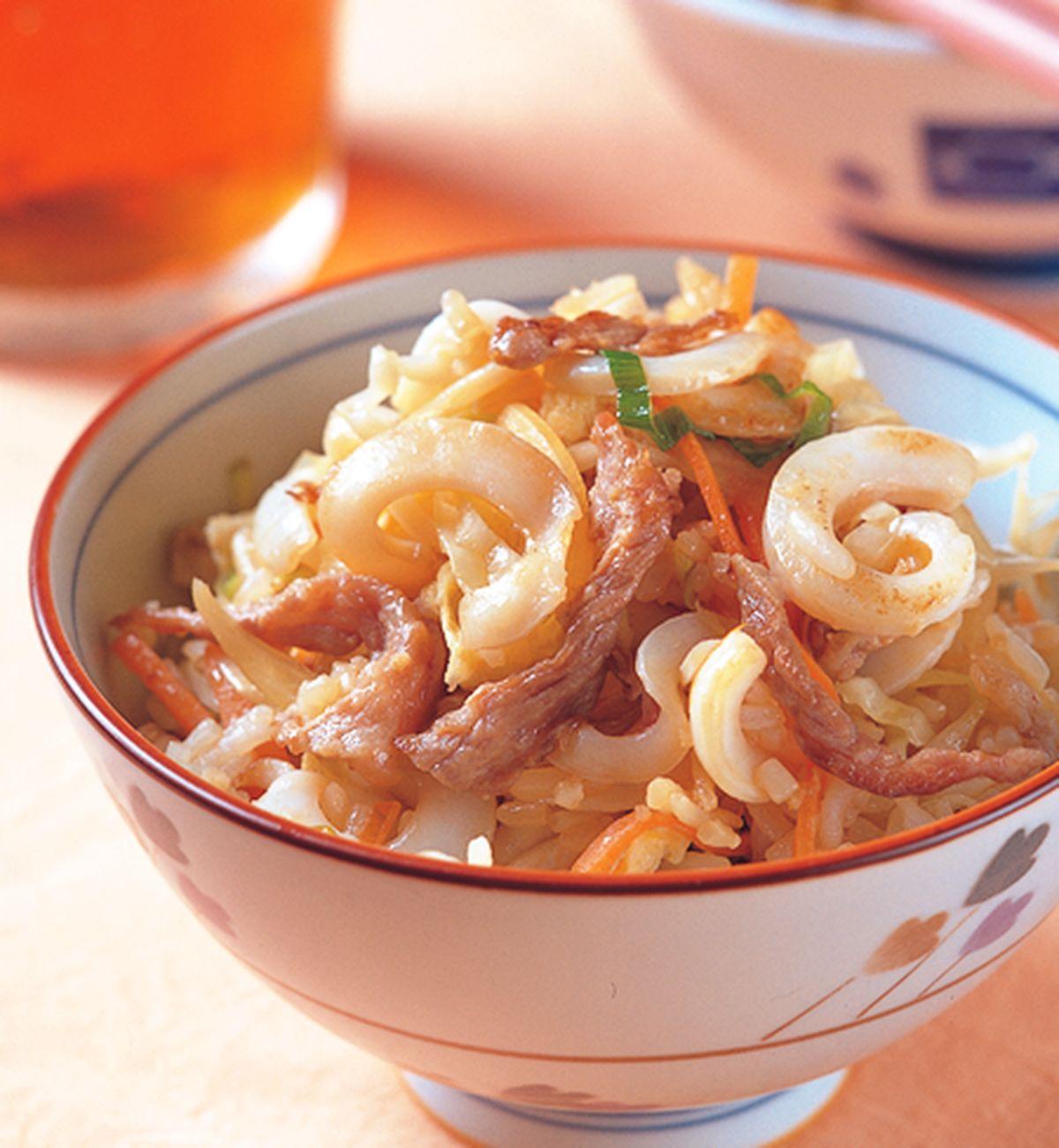 食譜:什錦炒飯(1)