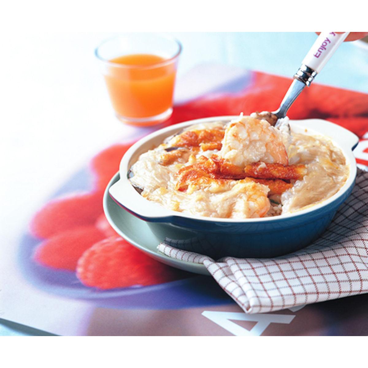 食譜:芝士海鮮焗飯