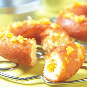 香橙甜甜圈