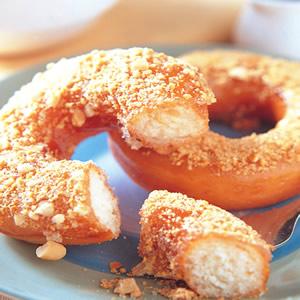 花生甜甜圈