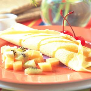 水果蛋餅捲