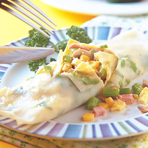 蔬菜蛋餅(1)