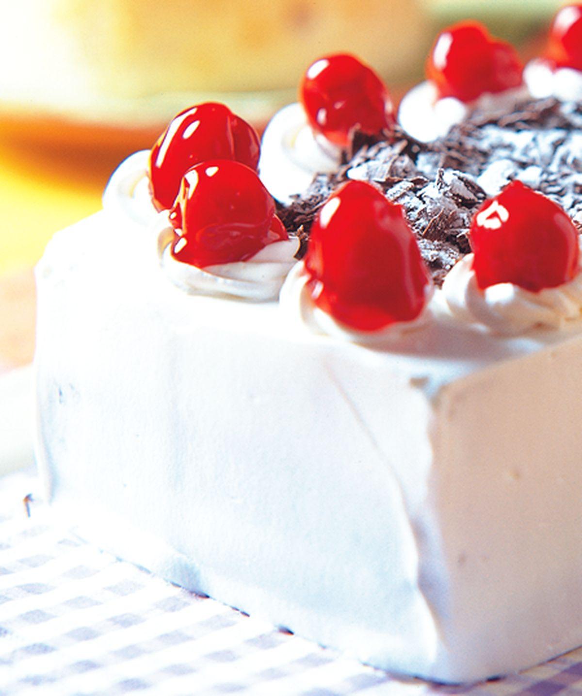 食譜:森林水果海綿蛋糕