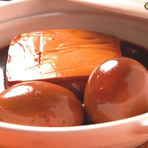 滷豆腐&滷蛋