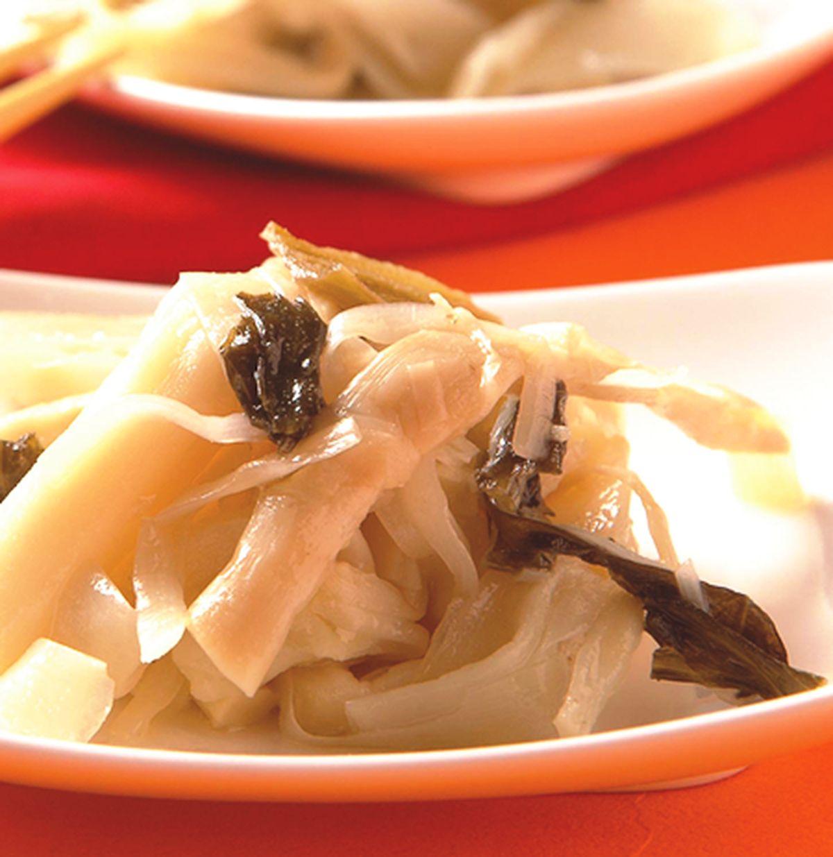 食譜:酸菜滷筍絲