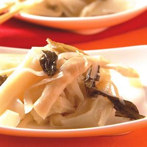 酸菜滷筍絲