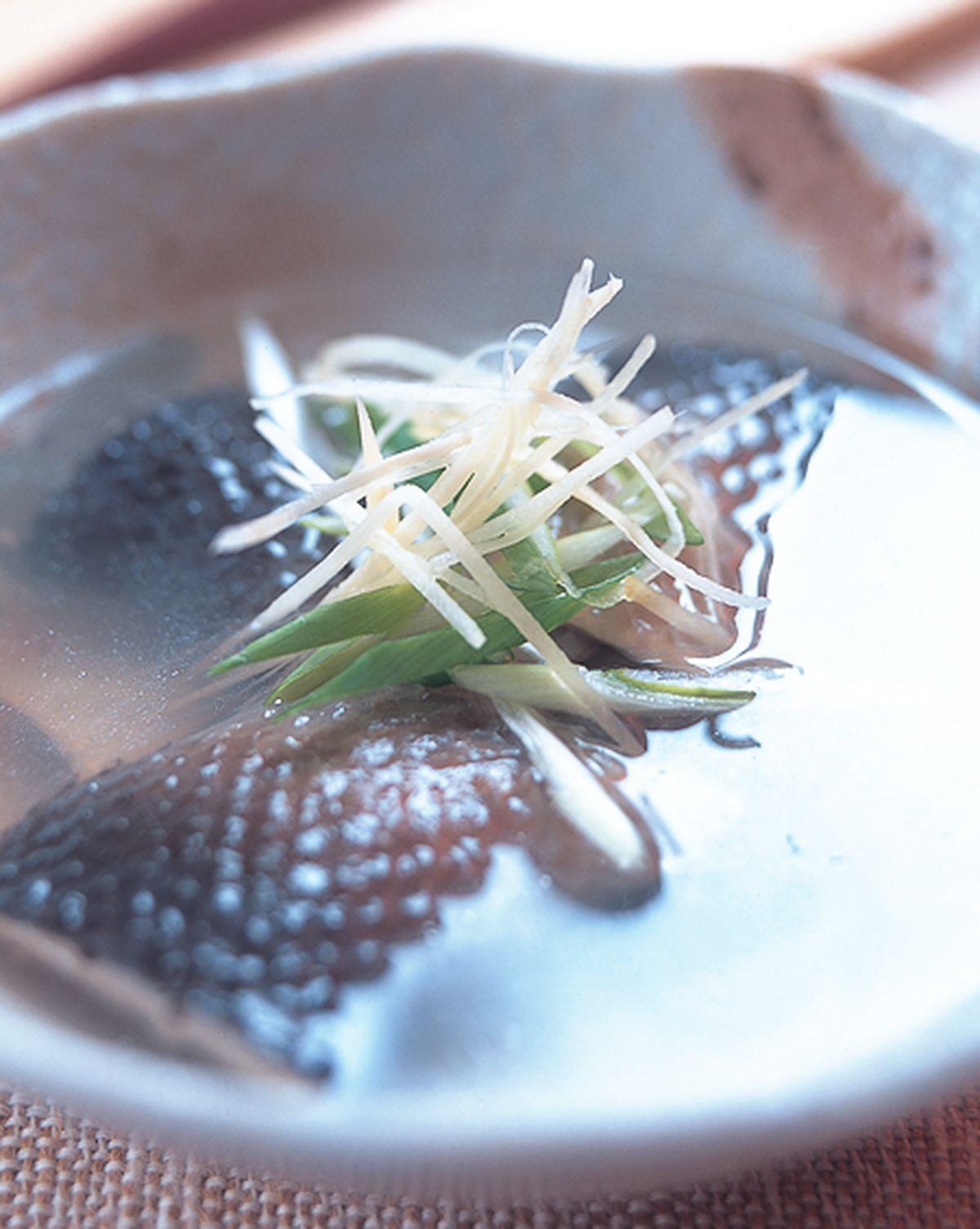 食譜:魚皮湯