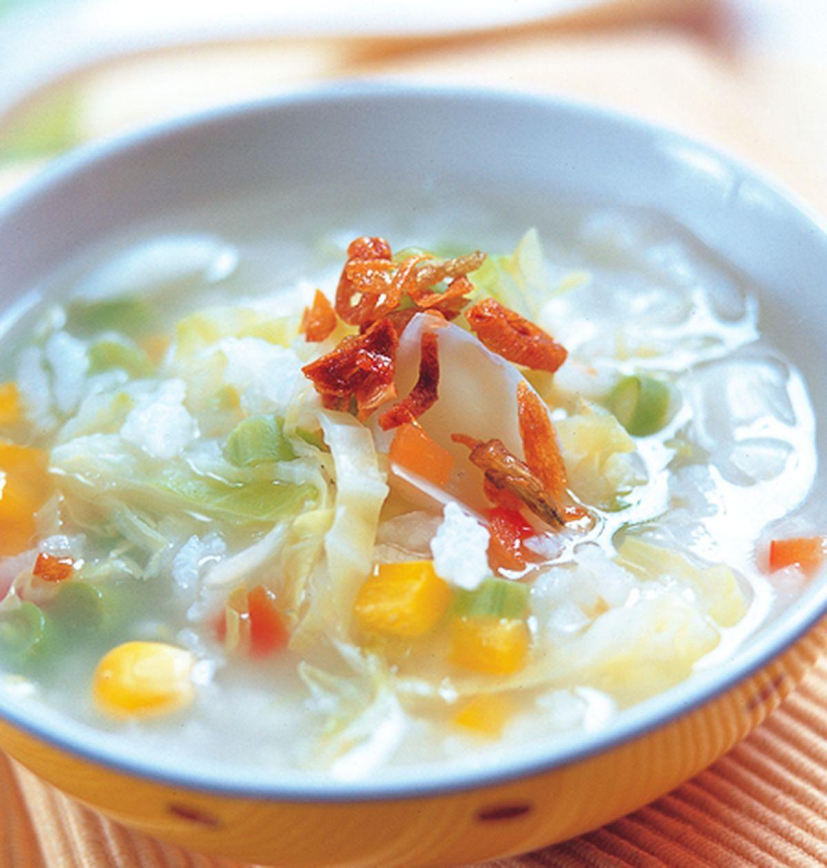食譜:健康蔬菜粥