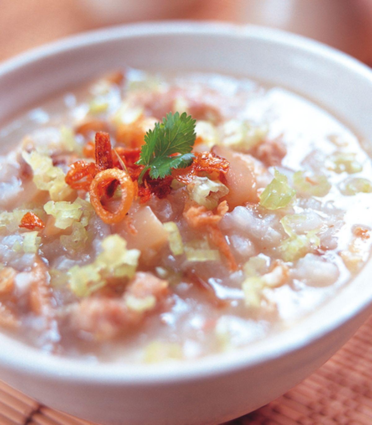 食譜:香菇肉粥