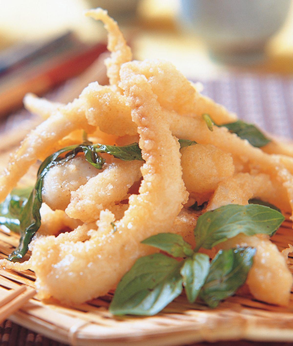 食譜:炸魷魚鬚