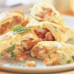 鹹酥雞蛋卷