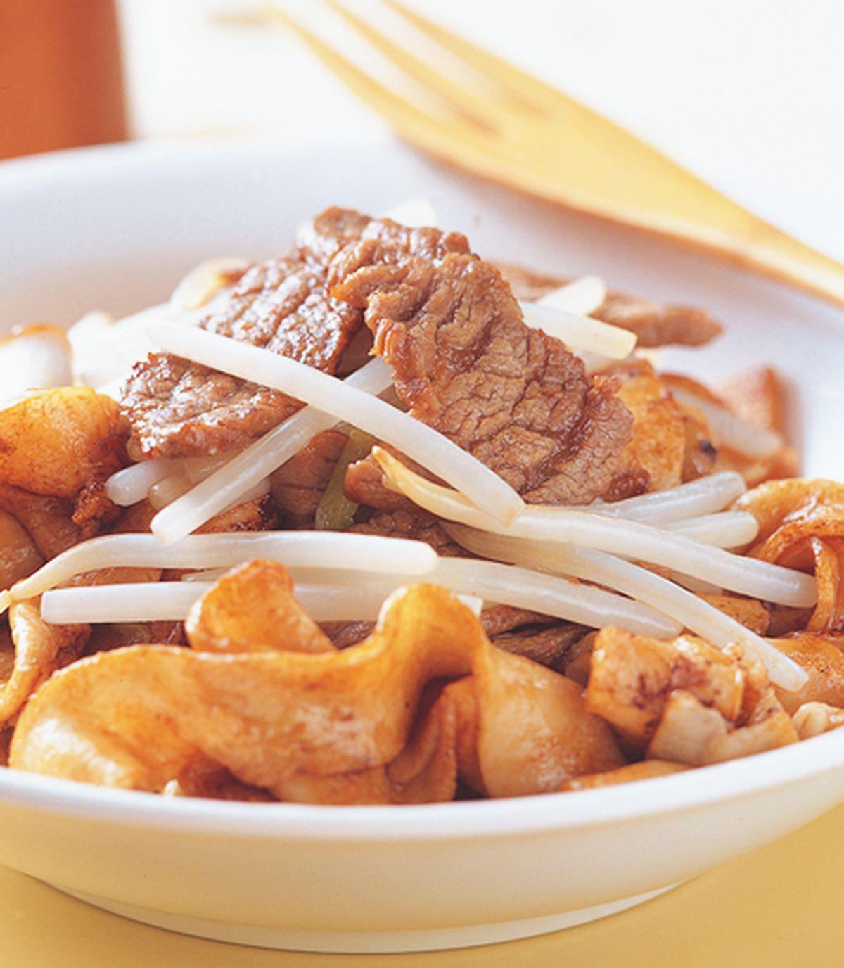 食譜:乾炒牛河(1)