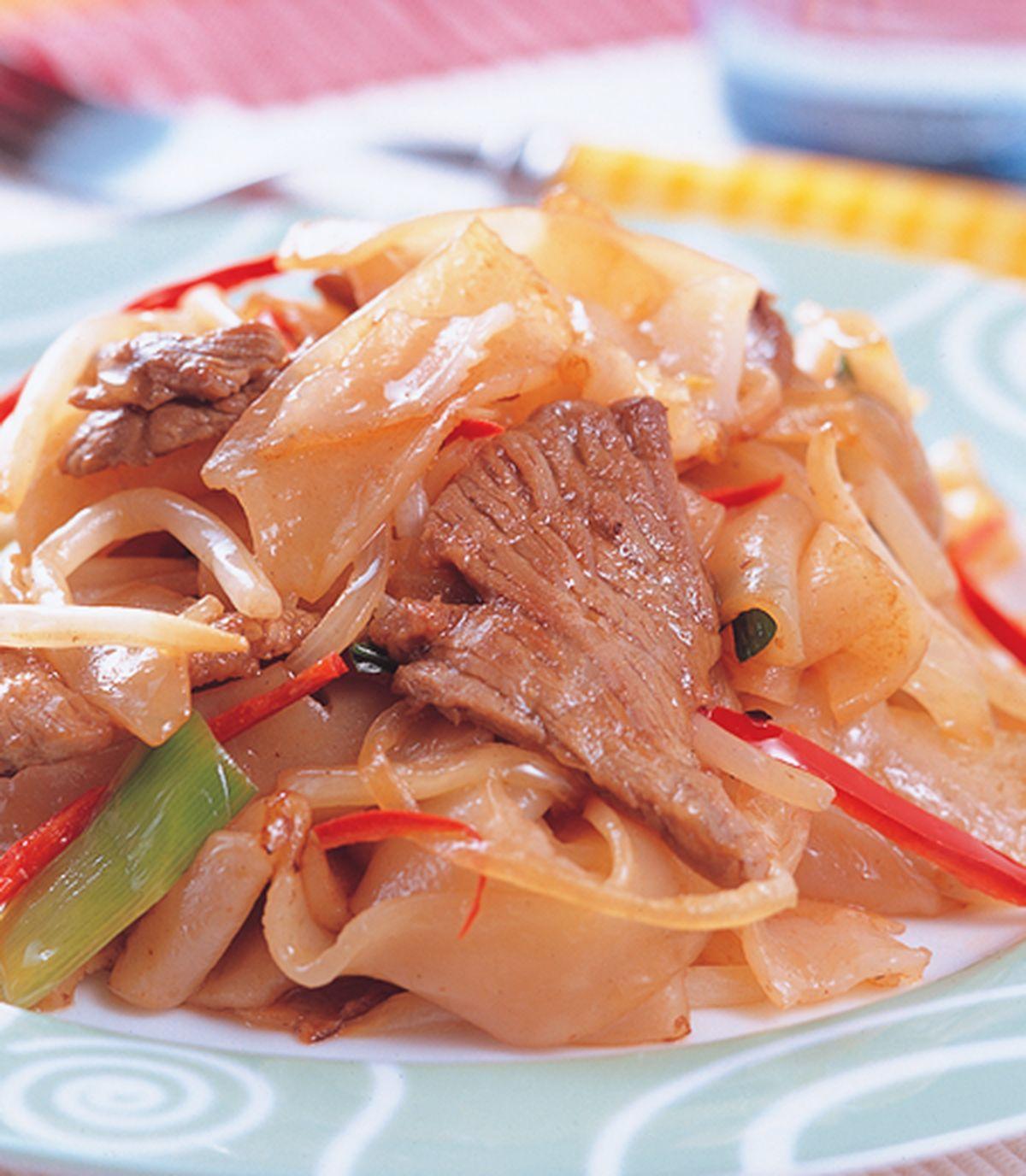 食譜:蝦醬炒河粉