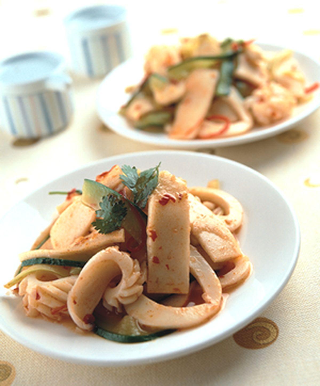 食譜:泰式涼拌鱈寶