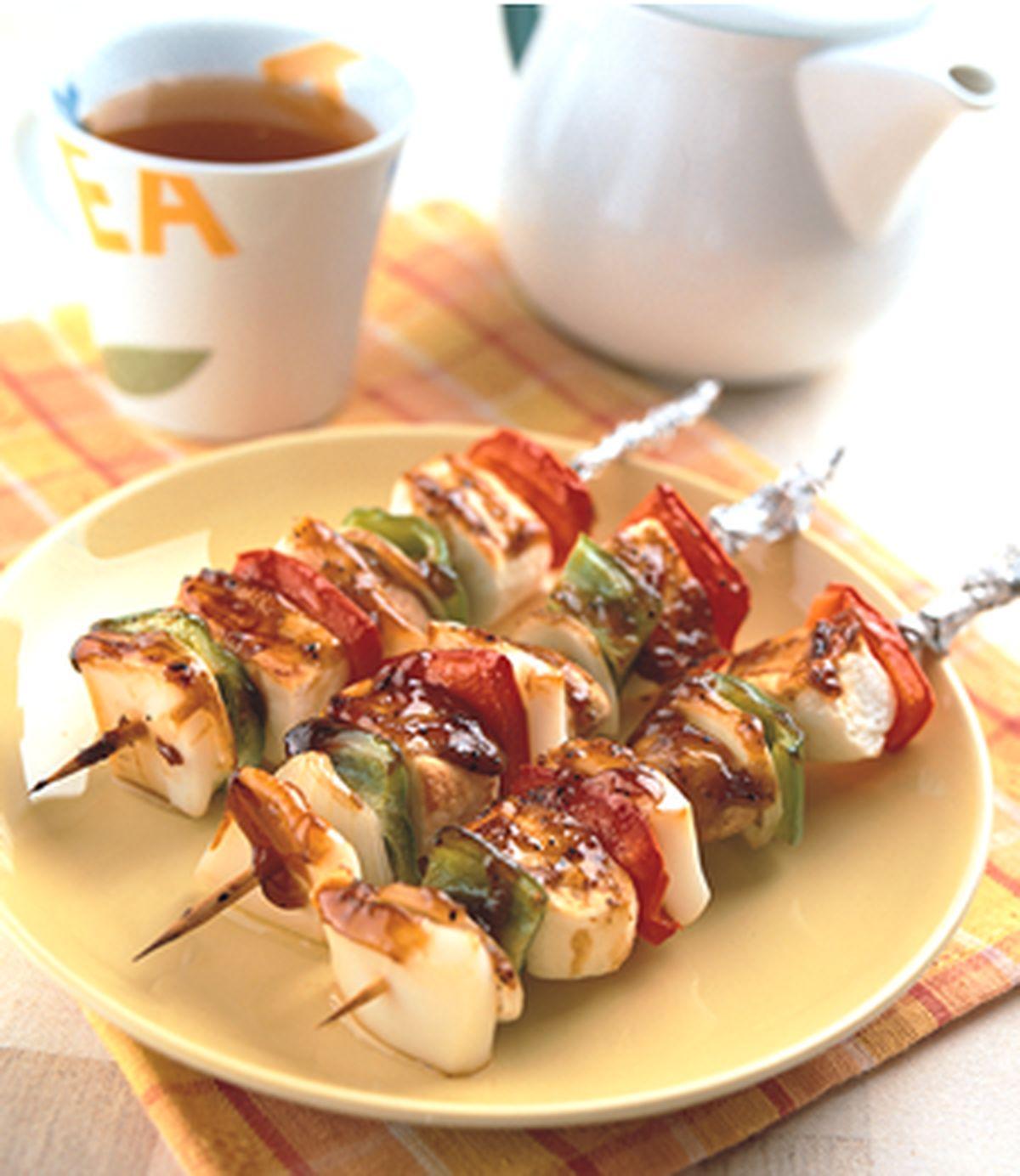 食譜:花枝鱈寶串燒