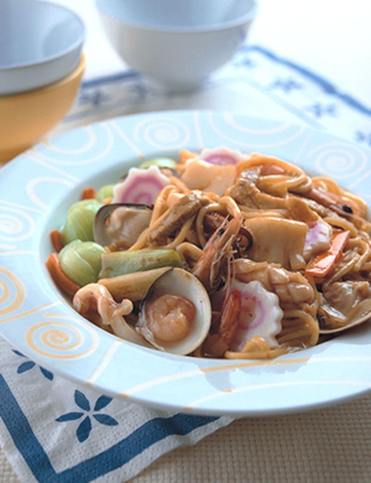 食譜:錦繡炒麵