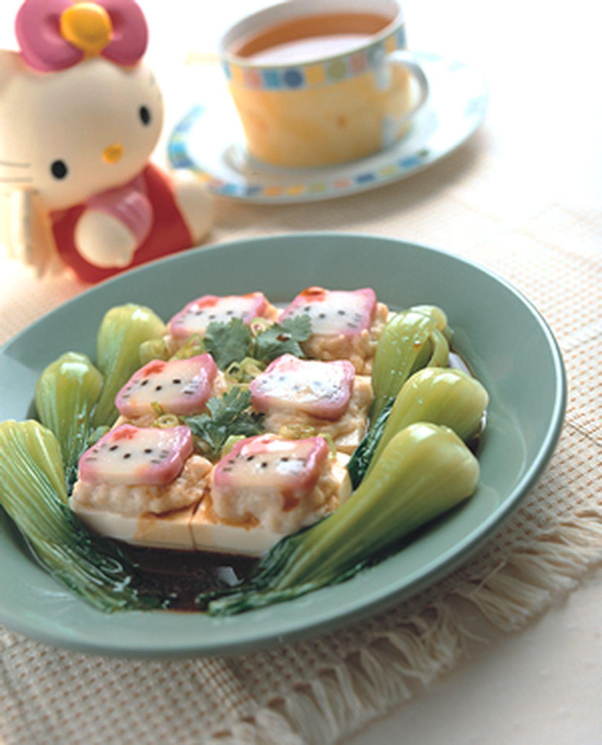 食譜:百花豆腐