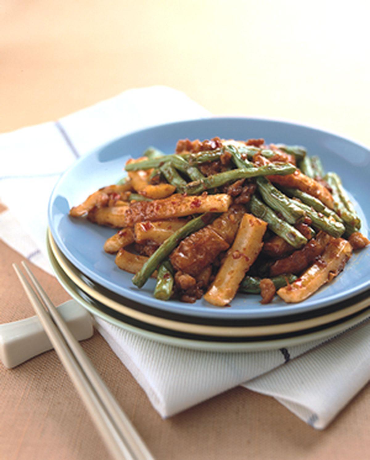 食譜:辣煸四季豆