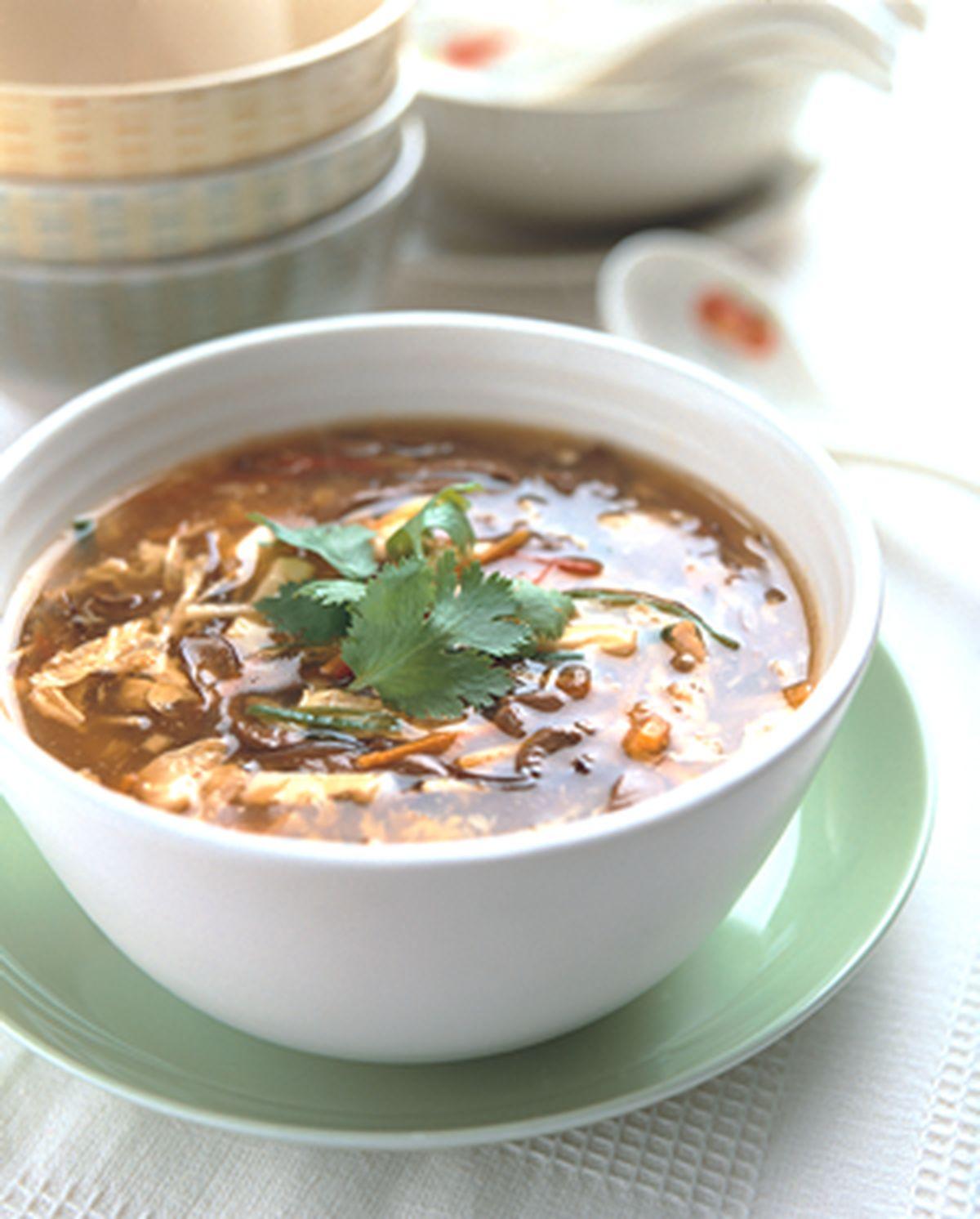 食譜:酸辣湯(2)