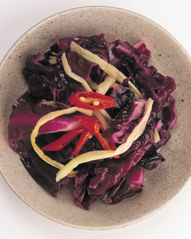 食譜:紫生菜泡菜