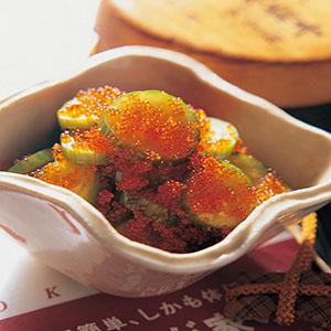 魚卵黃瓜泡菜