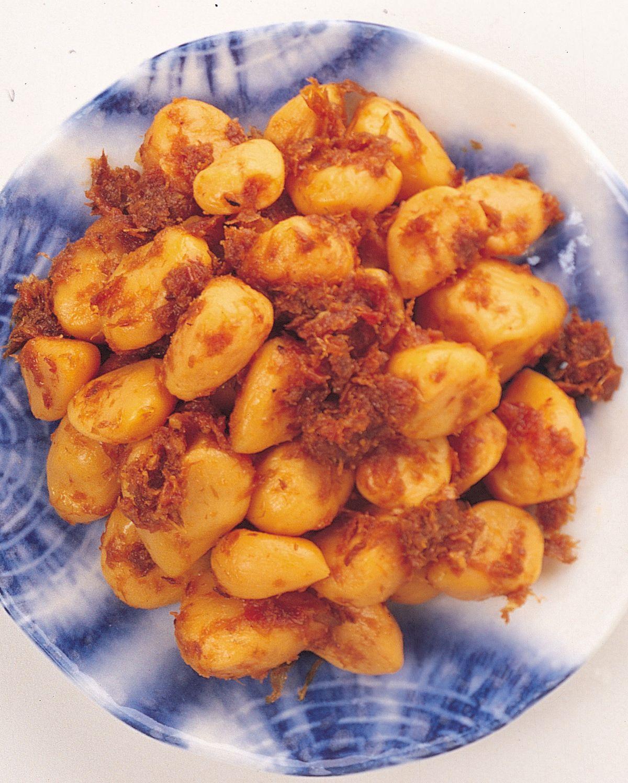 食譜:柴魚味噌大蒜