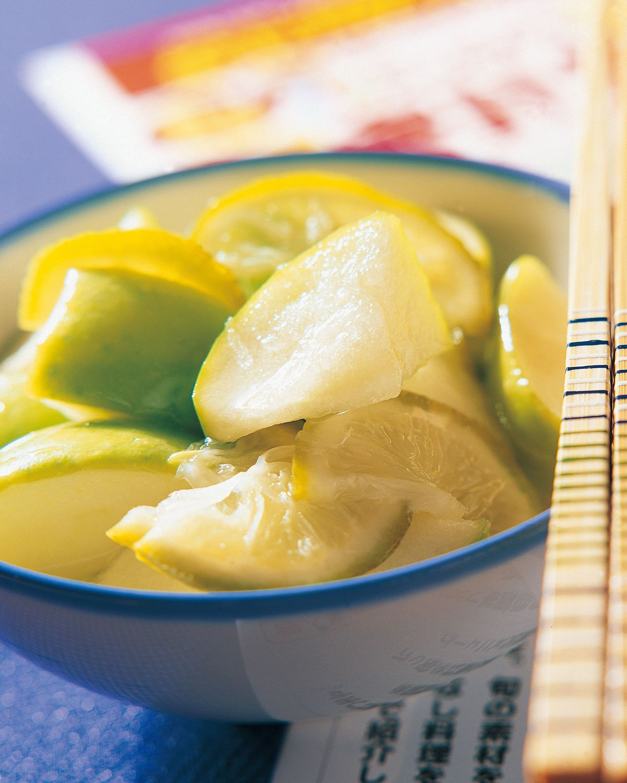 食譜:蘋果檸檬泡菜