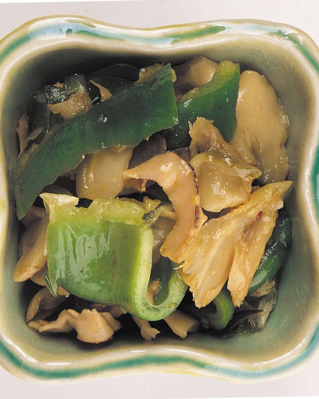 食譜:青椒榨菜泡菜