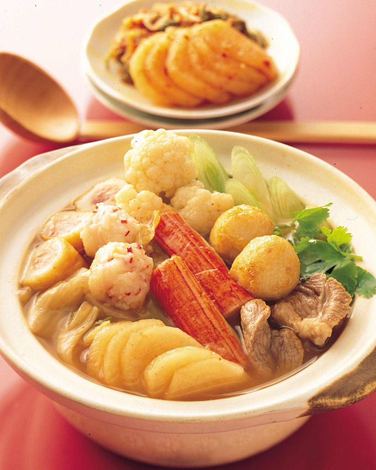 食譜:辣泡菜小火鍋