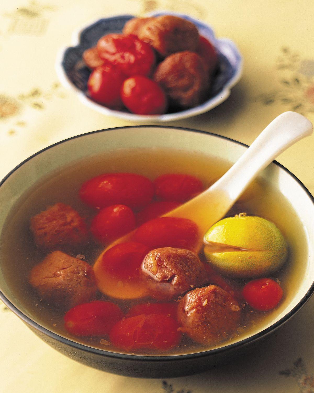 食譜:蕃茄金桔茶