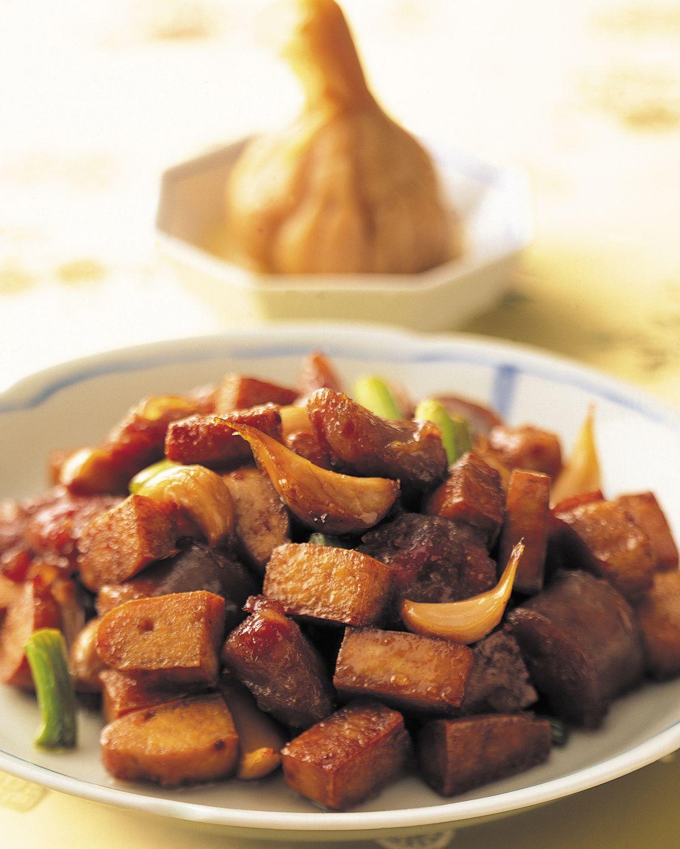 食譜:糖蒜炒豆干
