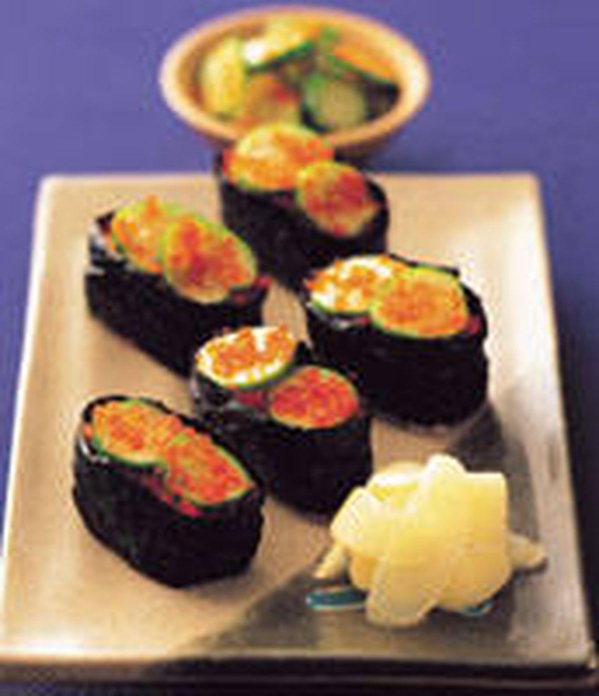 食譜:魚卵小壽司