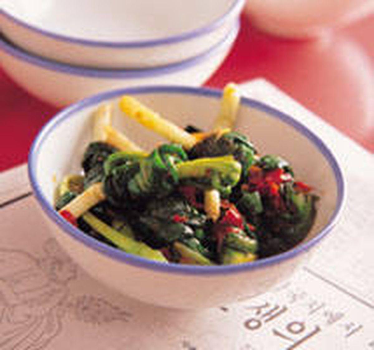食譜:辣韭菜結泡菜