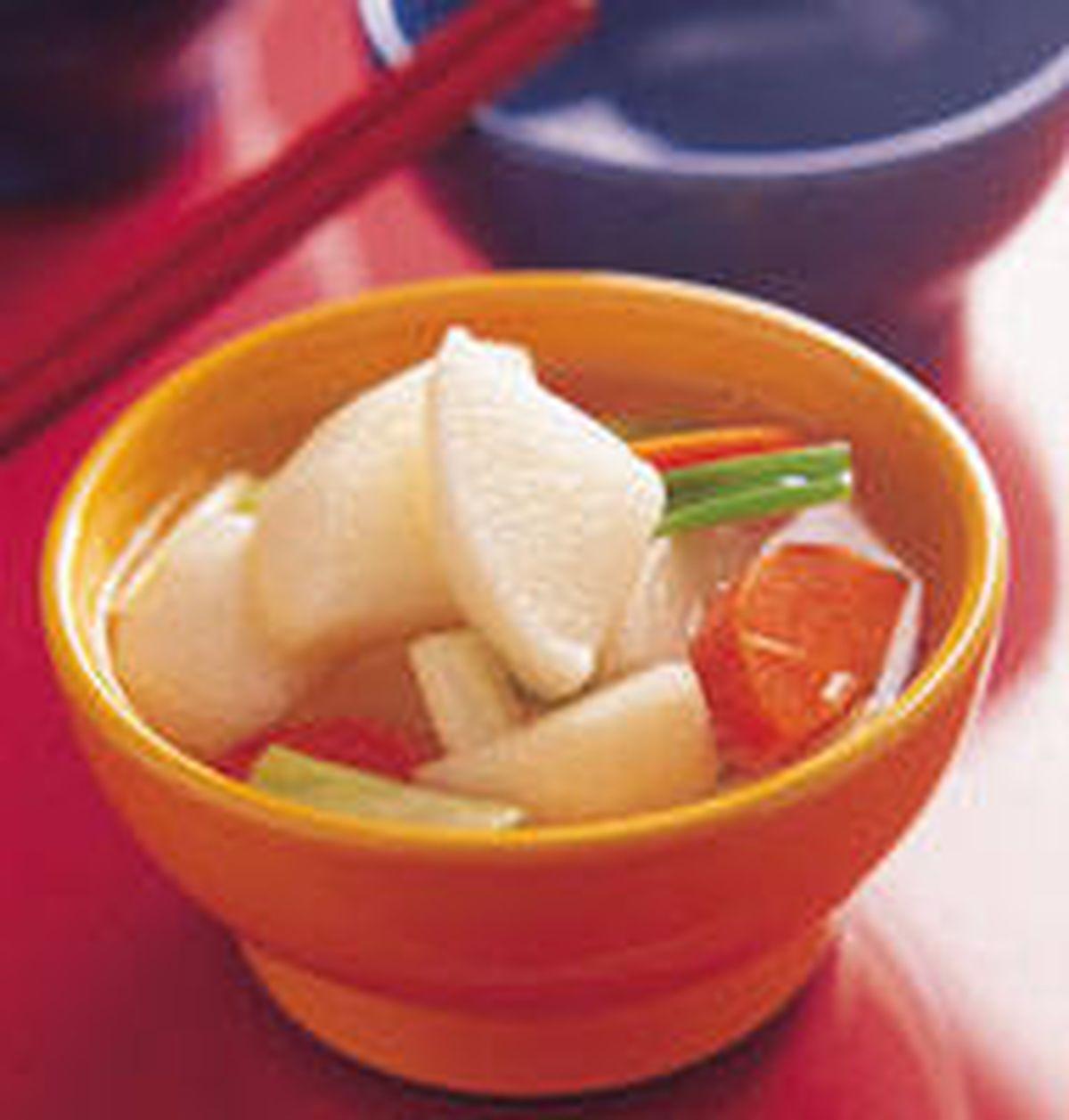 食譜:淡小蘿蔔水泡菜