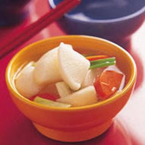 淡小蘿蔔水泡菜