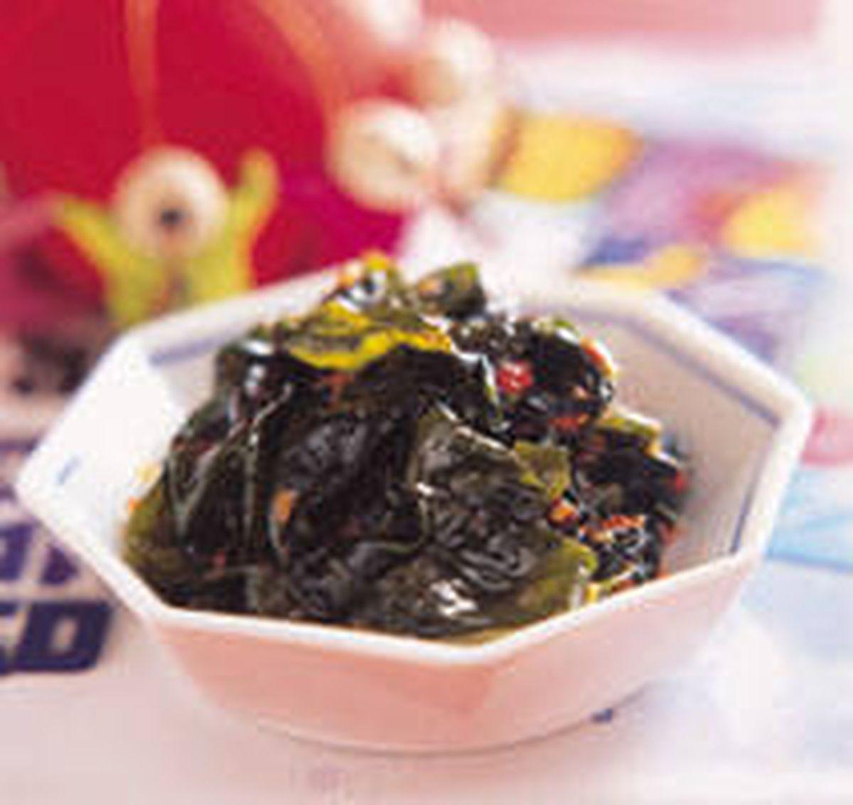 食譜:辣海帶芽泡菜