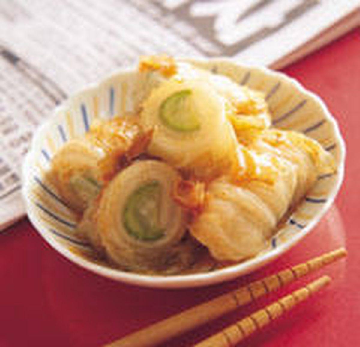 食譜:柴魚白菜卷泡菜