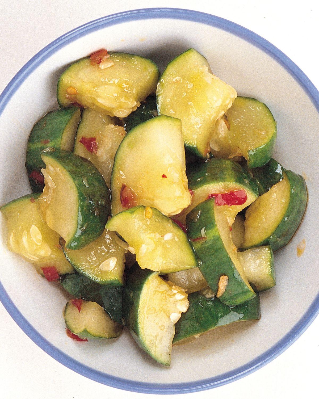 食譜:大黃瓜泡菜