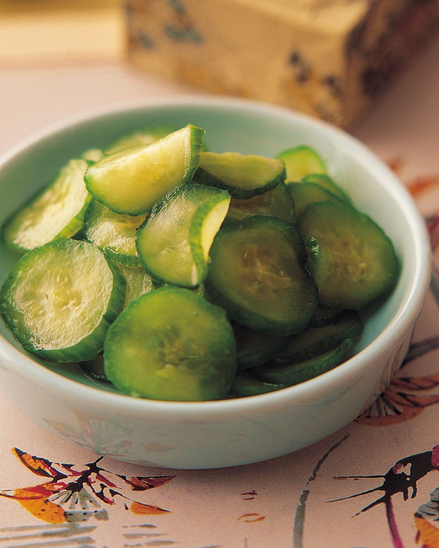 食譜:醋味黃瓜泡菜