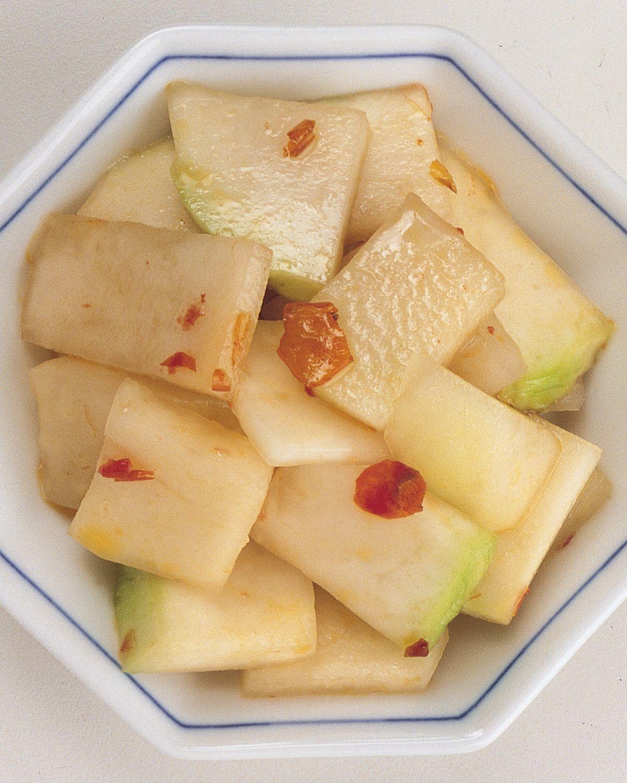 食譜:大頭菜片泡菜