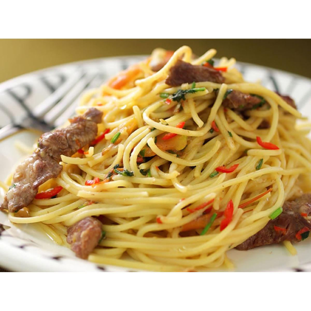 食譜:泰味牛肉義大利麵