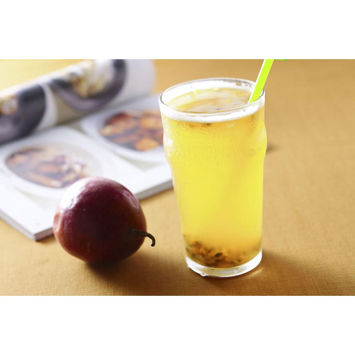 食譜:百香果綠茶