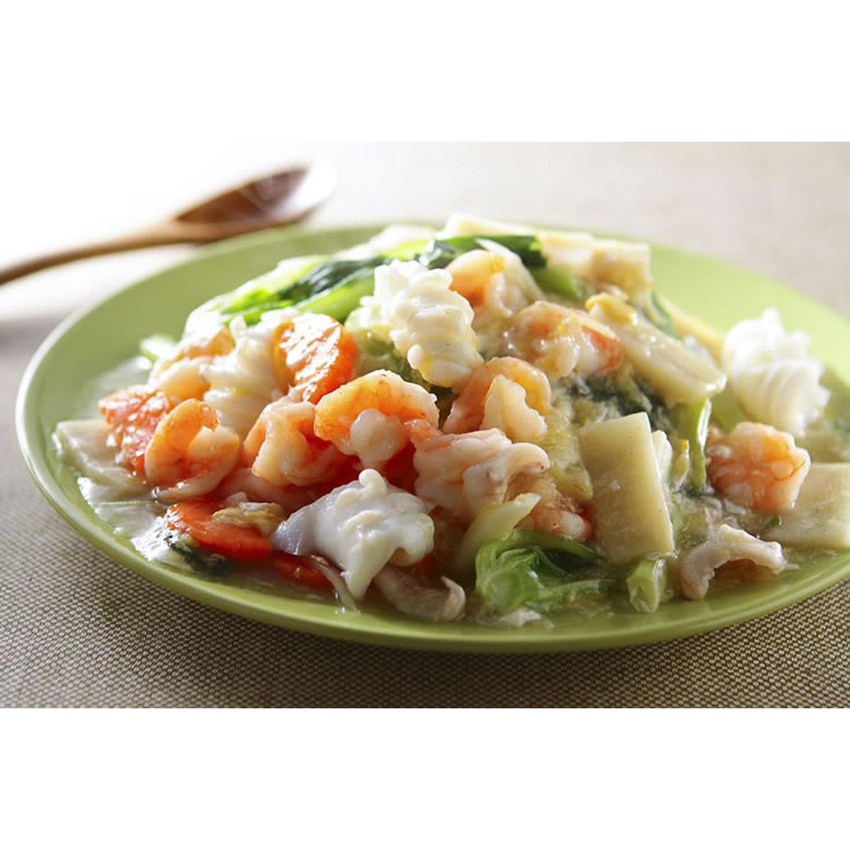 食譜:海鮮滑蛋燴飯