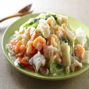 海鮮滑蛋燴飯
